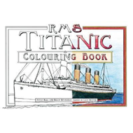 RMS Titanic Colouring Book (BOK)