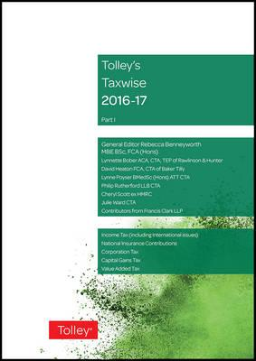 Tolley's Taxwise I 2016-17 (BOK)