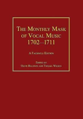 Monthly Mask of Vocal Music 1702-1711 (BOK)