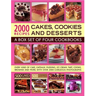 2000 Recipes: Cakes, Cookies & Desserts (BOK)