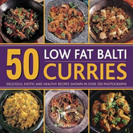 50 Low Fat Balti Curries (BOK)