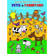 Look Find and Colour - Pets and Farmyard (BOK)