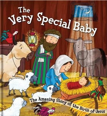 The Very Special Baby: Square Cased Bible Story Book (BOK)