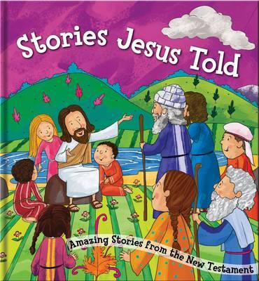 Stories Jesus Told: Square Cased Bible Story Book (BOK)