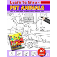 Learn to Draw Pet Animals (BOK)