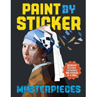 Paint By Sticker: Masterpieces (BOK)