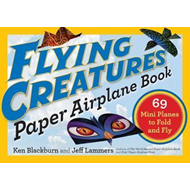 Flying Creatures Paper Airplane Book (BOK)