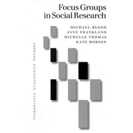 Focus Groups in Social Research (BOK)
