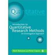 Introduction to Quantitative Research Methods (BOK)