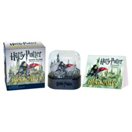 Harry Potter Hogwarts Castle Snow Globe and Sticker Kit (BOK)