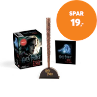 Produktbilde for Harry Potter Hermione's Wand with Sticker Kit - Lights Up! (BOK)