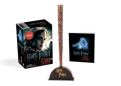 Harry Potter Hermione's Wand with Sticker Kit (BOK)