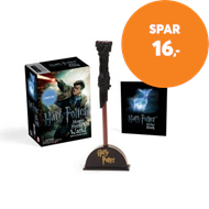 Produktbilde for Harry Potter Wizard's Wand with Sticker Book - Lights Up! (BOK)