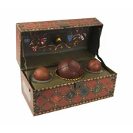 Produktbilde for Harry Potter: Collectible Quidditch Set (BOK)