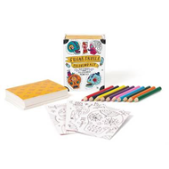Sugar Skulls Coloring Kit (BOK)