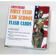Barron's First Year Law School Flash Cards: 350 Cards with Questions & Answers (BOK)