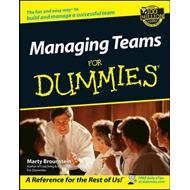 Managing Teams For Dummies (BOK)
