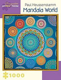 Paul Heussenstamm Mandala World 1000-Piece Jigsaw Puzzle Aa9 (BOK)