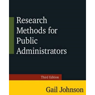 Research Methods for Public Administrators (BOK)