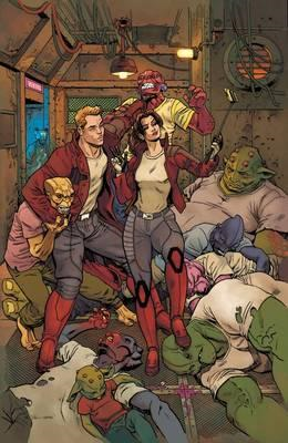 Legendary Star-lord Vol. 4: Out Of Orbit (BOK)