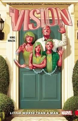 Vision Vol. 1: Little Worse Than A Man (BOK)