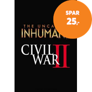 Produktbilde for Uncanny Inhumans Vol. 3: Civil War Ii (BOK)