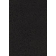 KJV, Minister's Bible, Leathersoft, Black, Comfort Print (BOK)