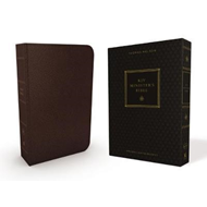 KJV, Minister's Bible, Leathersoft, Brown, Comfort Print (BOK)