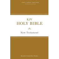KJV, Holy Bible New Testament, Paperback, Comfort Print (BOK)