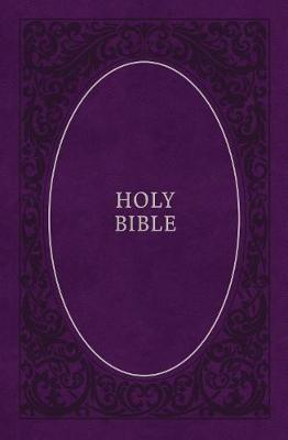KJV, Holy Bible, Soft Touch Edition, Leathersoft, Purple, Co (BOK)