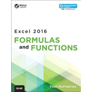 Excel 2016 Formulas and Functions (includes Content Update P (BOK)