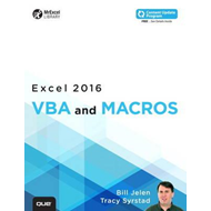 Excel 2016 VBA and Macros (includes Content Update Program) (BOK)