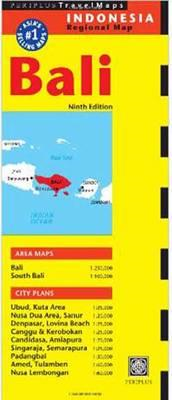 Bali Travel Map (BOK)