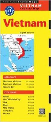 Vietnam Travel Map Eighth Edition (BOK)