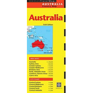 Australia Travel Map Sixth Edition (BOK)