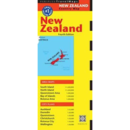 New Zealand Travel Map (BOK)