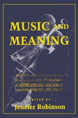 Music and Meaning (BOK)