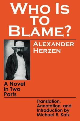 Who is to Blame? (BOK)