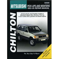 Mitsubishi Shogun and L200 Pick-up Including Twin-cab (1983- (BOK)