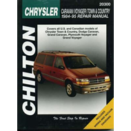 Chrysler Caravan, Voyager, Town and Country (1984-95) (BOK)