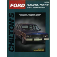 Ford Fairmont/Zephyr Automotive Repair Manual (BOK)