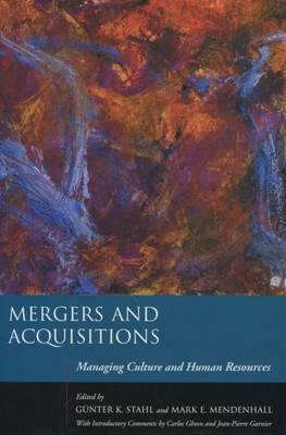 Mergers and Acquisitions: Managing Culture and Human Resources (BOK)