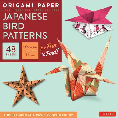 Origami Paper : Japanese Bird Patterns (BOK)