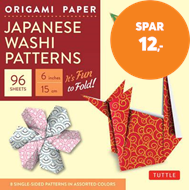 "Produktbilde for Origami Paper - Japanese Washi Patterns - 6"" - 96 Sheets - Tuttle Origami Paper: High-Quality Origam (BOK)"