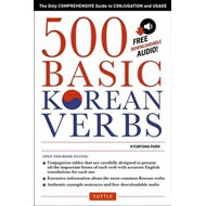 500 Basic Korean Verbs (BOK)