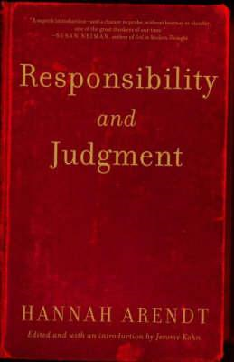 Responsibility and Judgment (BOK)