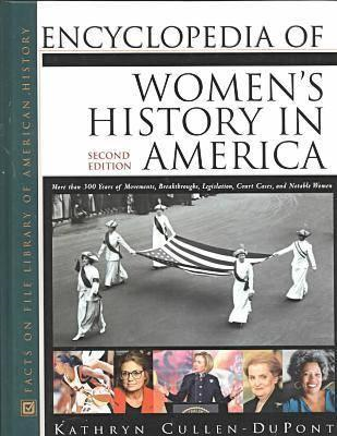 Encyclopedia of Women's History in America (BOK)