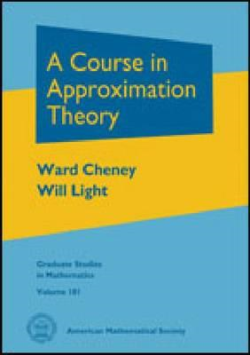 A Course in Approximation Theory (BOK)