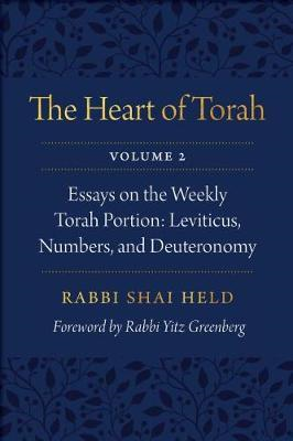 Heart of Torah, Volume 2 (BOK)