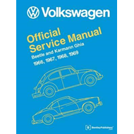 Volkswagen Beetle and Karmann Ghia Official Service Manual 1 (BOK)